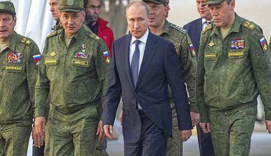 Военные учения в Донгузе с Президентом и Министром обороны РФ // Оренбургская область