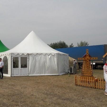 Шатер-пагода 65 м2